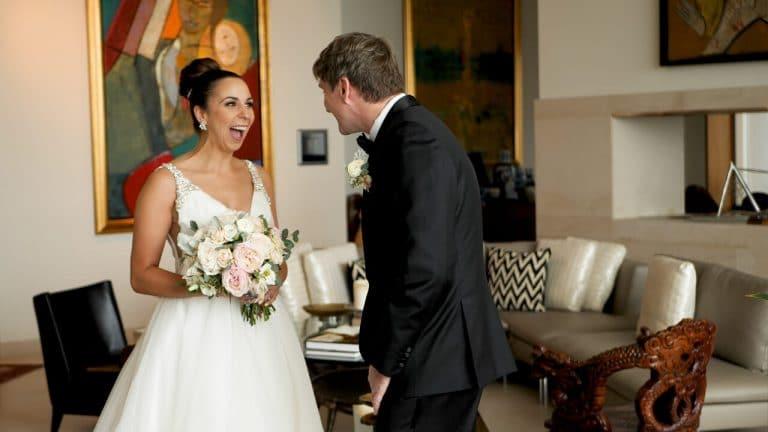 Allie and Scott Indianapolis Wedding Video Conrad Hotel