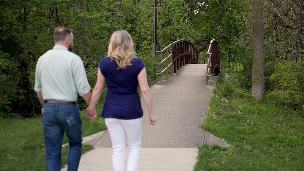 Ellenberger Park Engagement | Professional Photography & Videography