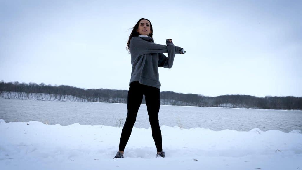 Justice Instagram Model Indiana Fitness Video Shoot