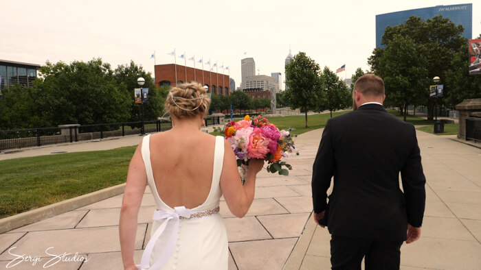 Indianapolis Wedding Video Sacred Heart Fountain Square Theatre