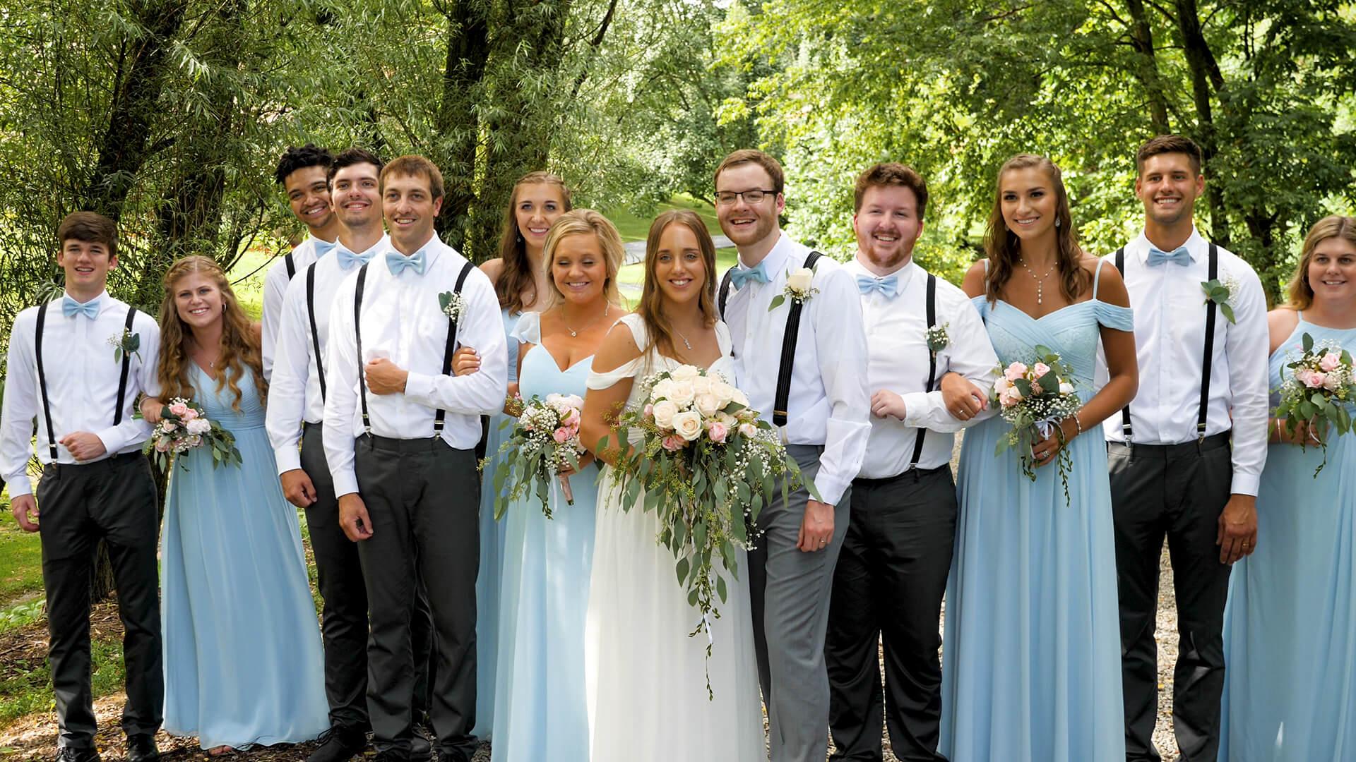 Audrey + Connor, Batesville, IN Wedding Video